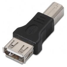 Nanocable - Adaptador USB 2.0 - conexion USB-A/H a B/M