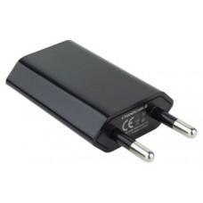 CARGADOR USB NANOCABLE MINI PARED 5V-1A NEGRO