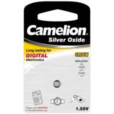 Boton Oxido plata SR66W 1.55V 0% Mercurio (1 pcs) Camelion (Espera 2 dias)