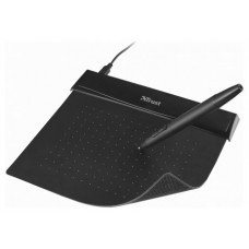 Trust 21259 tableta digitalizadora 140 x 100 mm USB Negro (Espera 4 dias)