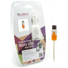 Cargador coche Micro USB 2.1A Biwond (Espera 2 dias)
