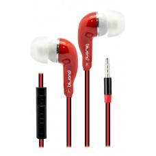 Auriculares + Micro MixSou Talk+ Rojo Biwond (Espera 2 dias)