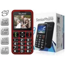 Biwond S9 Dual SIM SeniorPhone Rojo (Espera 2 dias)