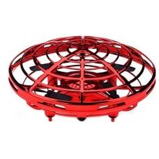 JUGUETE INTERACTIVO DRONE UFO ( Rotación 360º, carga USB, sensor infrarrojo de obstá (Espera 2 dias)