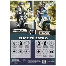 Poster A3 HAWK MIKU MAX - SUNRA (Espera 2 dias)