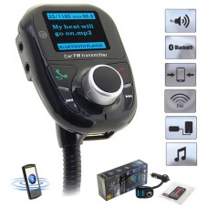 Transmisor FM LED Bluetooth Coche (Espera 2 dias)