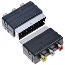 Adaptador Euroconector SCART/RCA (Espera 2 dias)