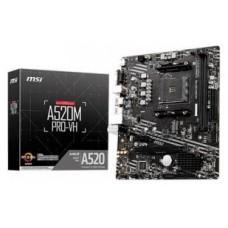 MSI A520M PRO-VH AMD A520 Zócalo AM4 micro ATX (Espera 4 dias)