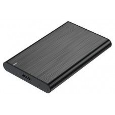 CAJA EXTERNA 2.5 9.5MM SATA A USB 3.0 3.1 GEN1 NEGRA