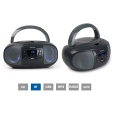 Radio CD USB BOOM-GO-G Fonestar Gris (Espera 2 dias)