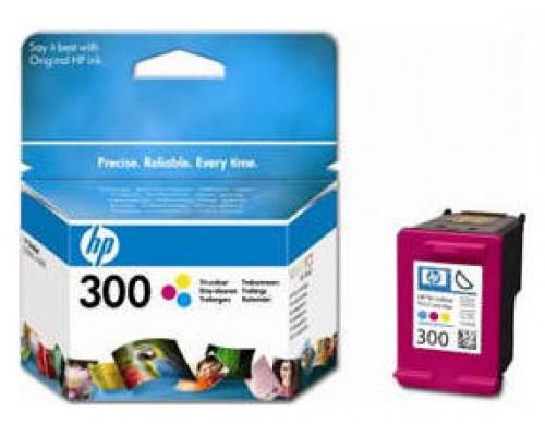 HP 300 CARTUCHO DE TINTA HP300 TRICOLOR (CC643EE) (Espera 4 dias)