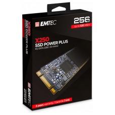 DISCO DURO M.2 256GB EMTEC POWER PLUS X250 (500MB/s