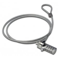 Ewent EW1241 cable antirrobo Plata 1,5 m (Espera 4 dias)