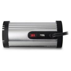 Ewent EW3990 adaptador e inversor de corriente Auto 150 W Negro, Plata (Espera 4 dias)