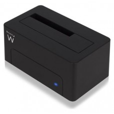 "Ewent EW7012 Dock Station Dual 2.5""-3.5"" USB 3.0"