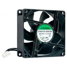 QNAP FAN-8CM-T01 ventilador de PC Universal Negro (Espera 4 dias)