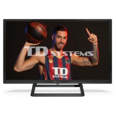 """TV TD SYSTEMS K24DLX11HS 24"""" HD SMART ANDROIDTV WIFI USB HDMI NEGRO"""