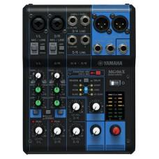 Yamaha MG06X mezclador DJ 6 canales Negro (Espera 4 dias)