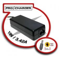 Carg. 19V/3.42A 5.5mm x 2.5 mm 65W Pro Charger (Espera 2 dias)