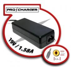 Carg. 19V/1.58A 5.5mm x 1.7mm 36w Pro Charger (Espera 2 dias)