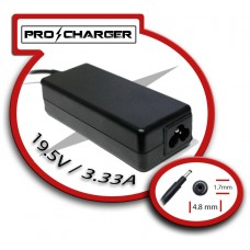 Carg. 19.5V/3.33A 4.8mm x 1.7mm 65W Pro Charger (Espera 2 dias)