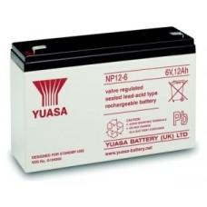 Yuasa - Bateria Recargable - Celda Unica - 6V - Plomo