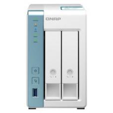 QNAP TS-231K servidor de almacenamiento NAS Torre Ethernet Blanco Alpine AL-214 (Espera 4 dias)
