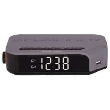 SCHNEIDER CONSUMER Schneider SC310ACL - Radio Despertador, Color Gris Reloj despertador digital (Espera 4 dias)