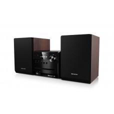 Sharp XL-B510 Microcadena de música para uso doméstico 14 W Negro, Marrón (Espera 4 dias)